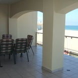First floor, 2 bedroom, 2.5 bathroom, open kitchen/lounge - , spacious balcony with braai, limited seaview