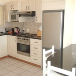 Ground floor, 2 bedroom, 1 bathroom, open kitchen/lounge, balcony with braai - no seaview